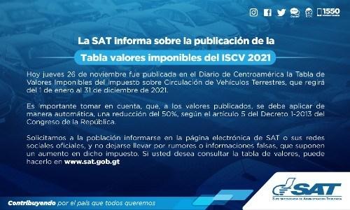 impuesto-circulacion-2021-tabla-valores-pagar-vehiculos-guatemala-aviso-sat