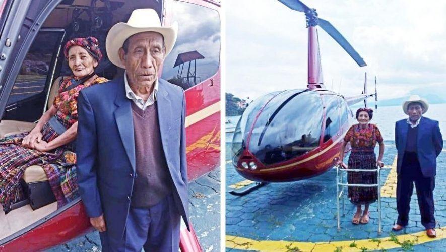 pareja-quetzalteca-cumplio-sueno-viajar-helicoptero-gracias-hijos