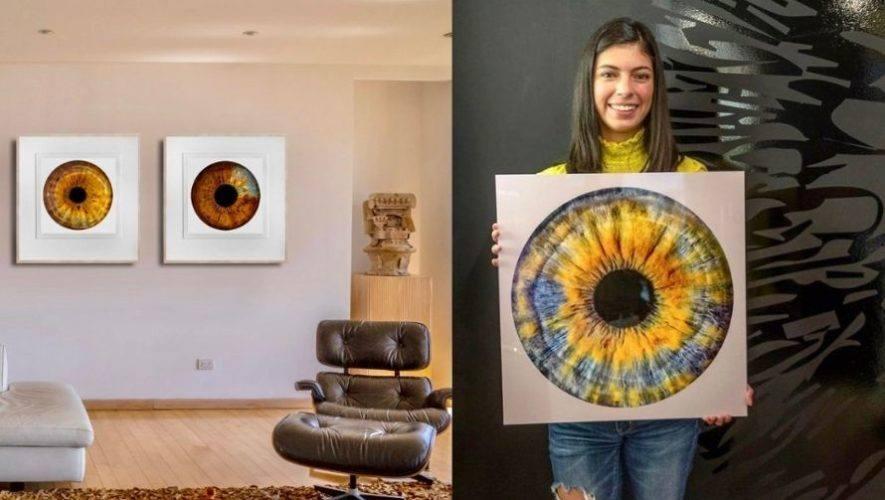 Alan Benchoam, el guatemalteco creador del primer estudio que retrata el iris de los ojos