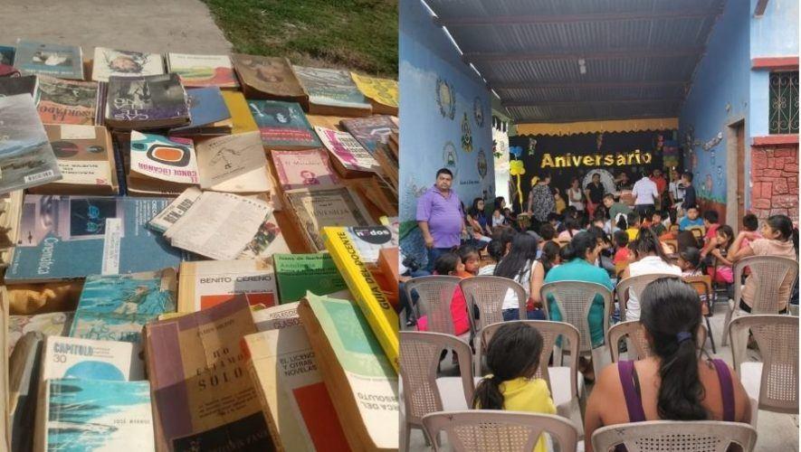 Anuncian colecta de libros para abastecer bibliotecas de los departamentos de Guatemala