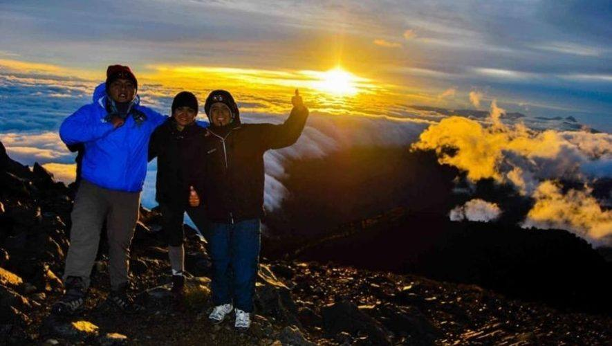 Ascenso y campamento en el Volcán Tajumulco   Enero 2021