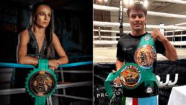 Boxeadores de Guatemala que han ganado títulos a nivel profesional
