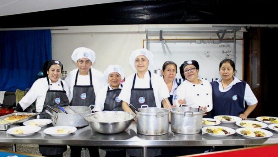 Cafetería inclusiva Shalom un proyecto que da empleo a personas con discapacidad en Guatemala