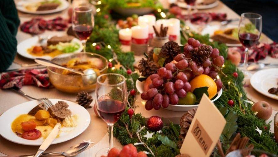 Cena navideña tipo buffet en la Ciudad de Guatemala   Diciembre 2020