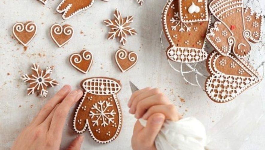 Curso para niños para elaborar galletas navideñas con técnica rusa | Diciembre 2020