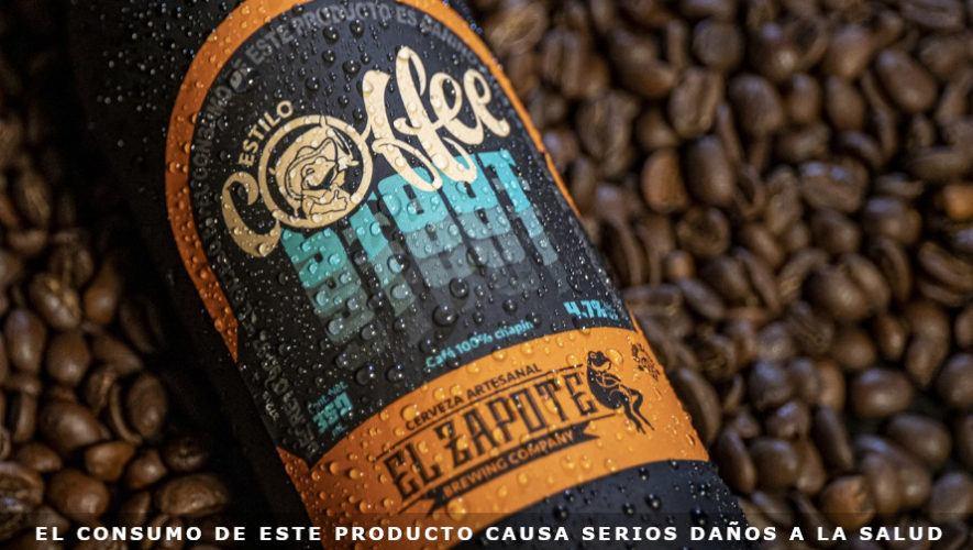 El Zapote Brewing Company lanzó nueva cerveza hecha con café 100 % guatemalteco