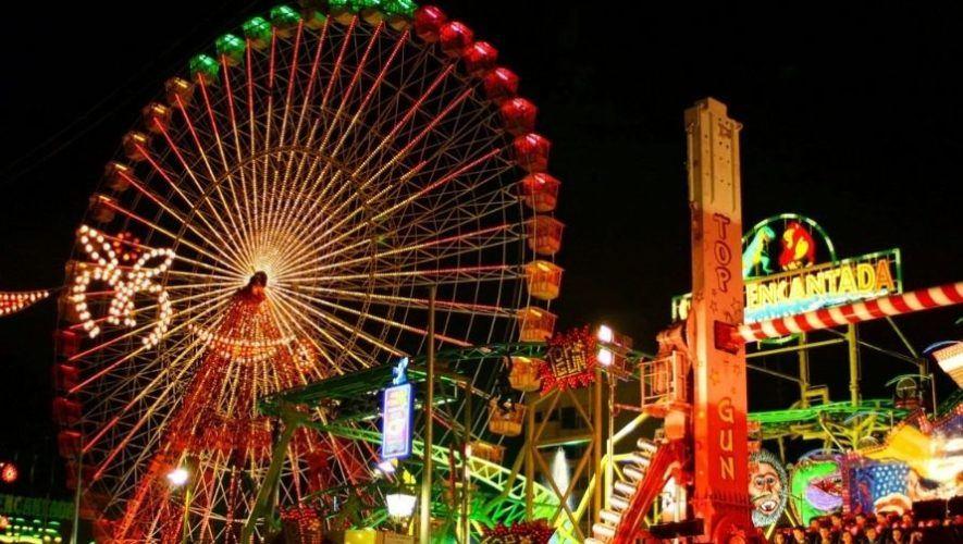 Feria navideña con juegos mecánicos en Parque Erick Barrondo | Diciembre 2020