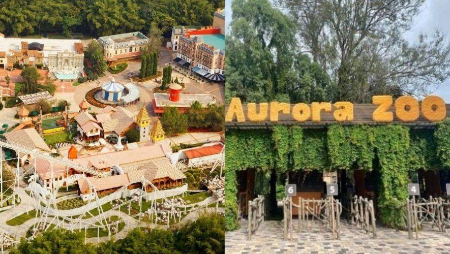 Horarios de fin de año que tendrán el Zoológico la Aurora e IRTRA 2020