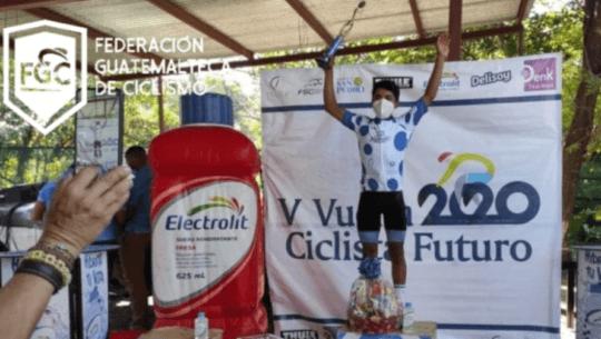 José Borón se proclamó campeón de montaña en la Vuelta al Futuro 2020 en El Salvador