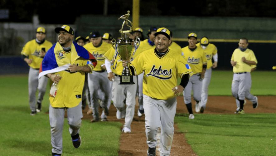 Lobos se proclamó campeón de la Liga de Béisbol Invernal de Guatemala 2020