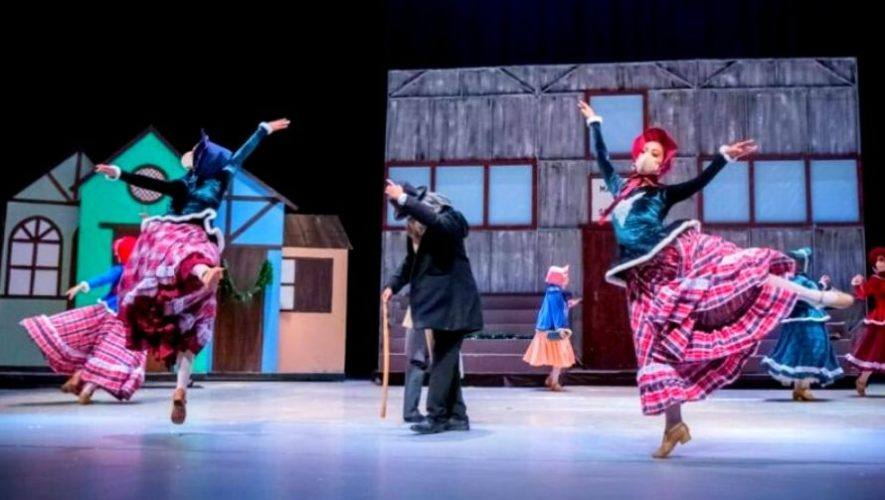Los Fantasmas de Scrooge, por el Ballet Nacional de Guatemala | Diciembre 2020