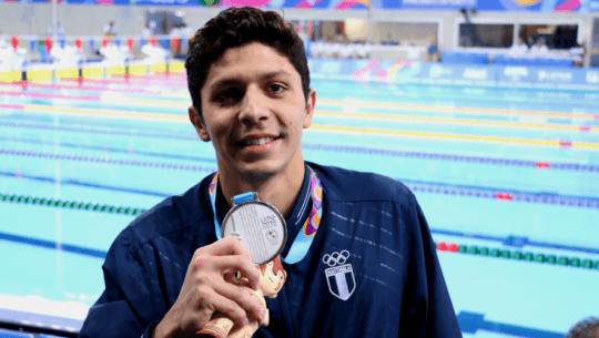 Luis Martínez registró la octava mejor marca del mundo en los 100 metros mariposa del 2020