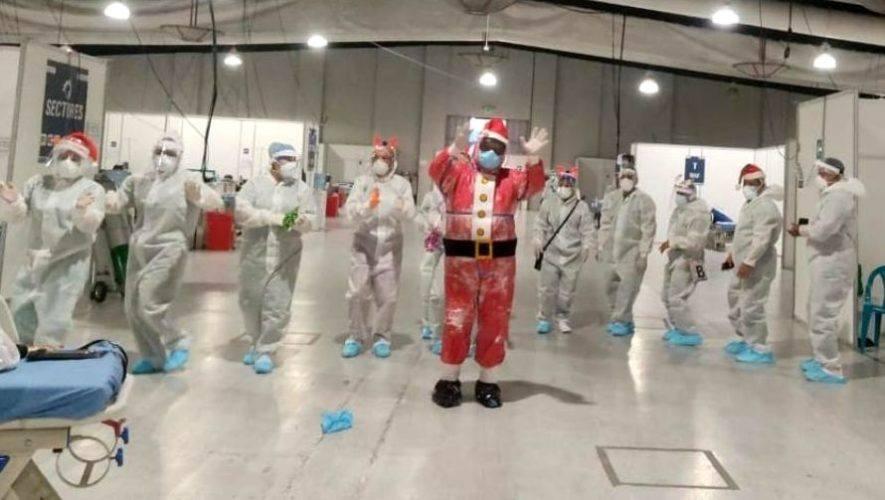 Médicos elaboraron video para dar ánimo a pacientes del Parque de la Industria en Navidad