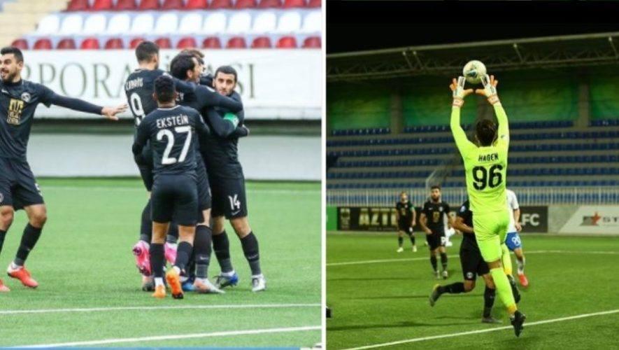 Nicolás Hagen y Sabail FK lograron importante victoria en la Premier League de Azerbaiyán