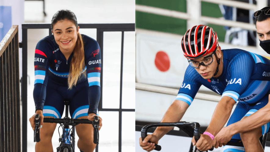 Nicole Rodríguez y Brandon Pineda subieron al podio del Torneo Internacional de Pista 2020