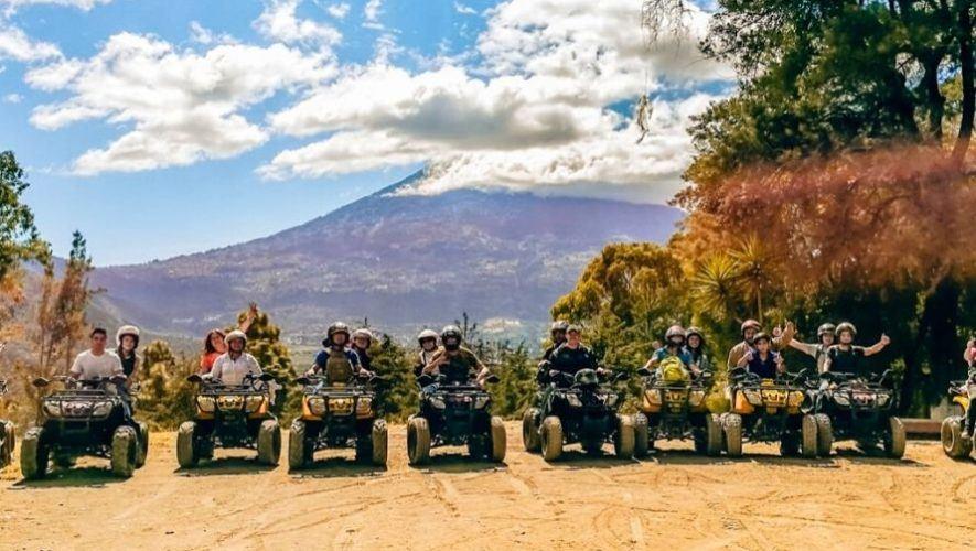 Paseo en cuatrimotos por los alrededores de Antigua Guatemala | Diciembre 2020 - Enero 2021