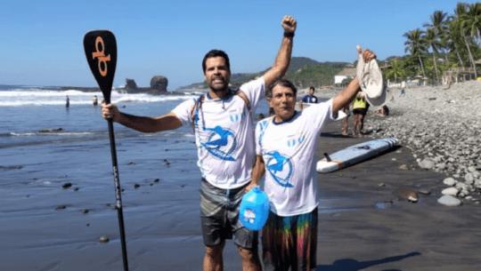 Pedro Vergara ganó doble oro en fecha 2 del Circuito Nacional de El Salvador 2020 de surf
