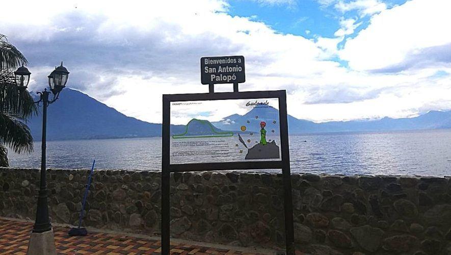 San Antonio Palopó inaugura un rótulo turístico de El Principito