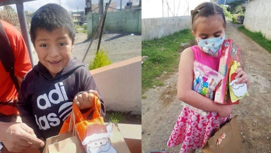 Pro Ciegos y Sordos donó juguetes a niños de los departamentos afectados por ETA e IOTA