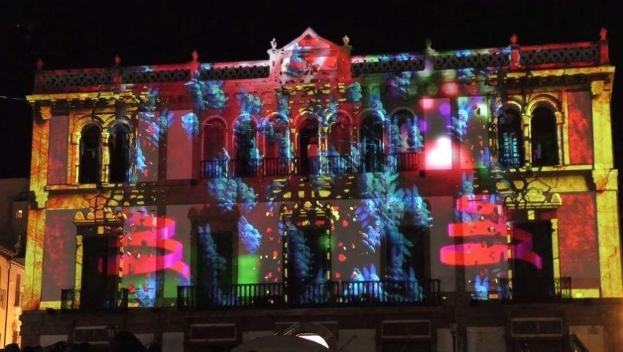 Show de mapping en la Parroquia Inmaculada Concepción, Villa Nueva | Diciembre 2020