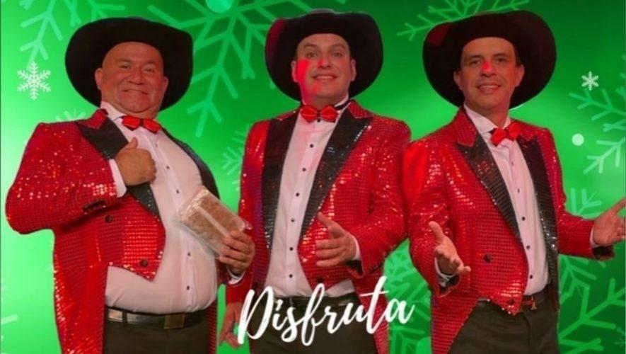 Show virtual de Los Tres Huitecos, especial de Navidad   Diciembre 2020