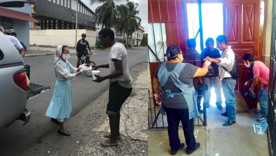 Sor Isabel, la religiosa que alimentó a las personas en condición de calle durante la pandemia