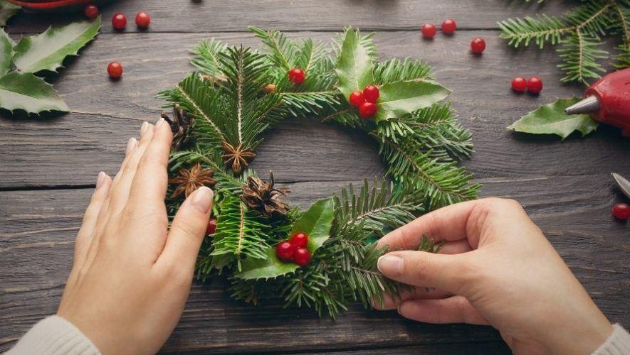 Taller gratuito para decorar guirnaldas navideñas | Diciembre 2020