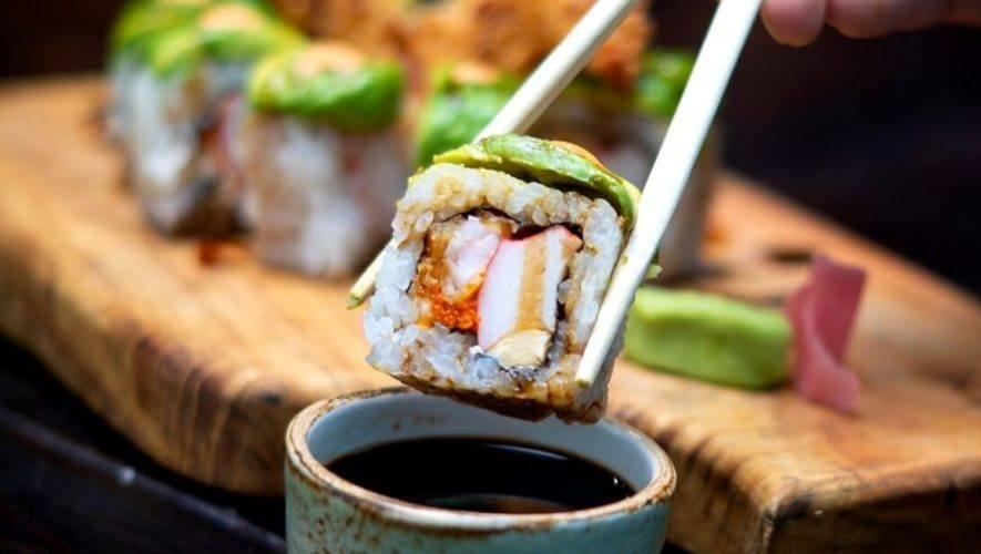 Todo lo que puedas comer de sushi en Zona 10 | Diciembre 2020