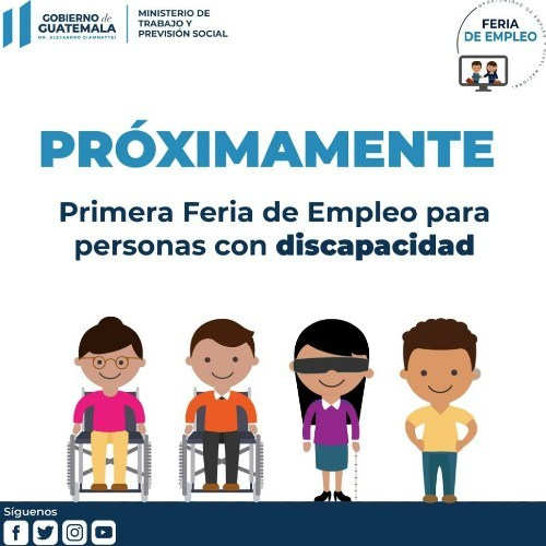 anuncian-primera-feria-empleo-personas-discapacidad-guatemala-convocatoria