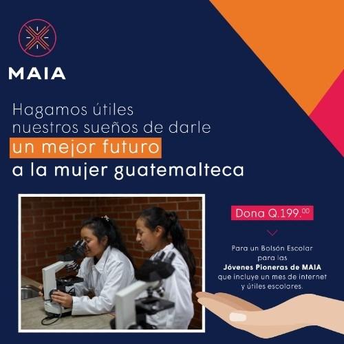 asociacion-maia-recaudando-fondos-entregar-bolsas-escolares-2021-donaciones-jovenes-pioneras