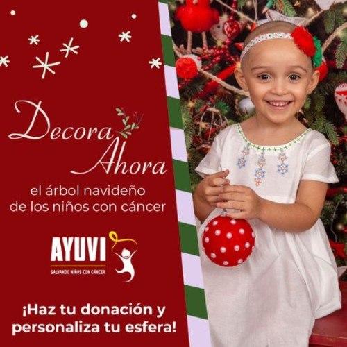 ayuvi-invitar-hacer-donativos-personalizar-esferas-navideñas-ninos-cancer-campaña-como-hacerlo