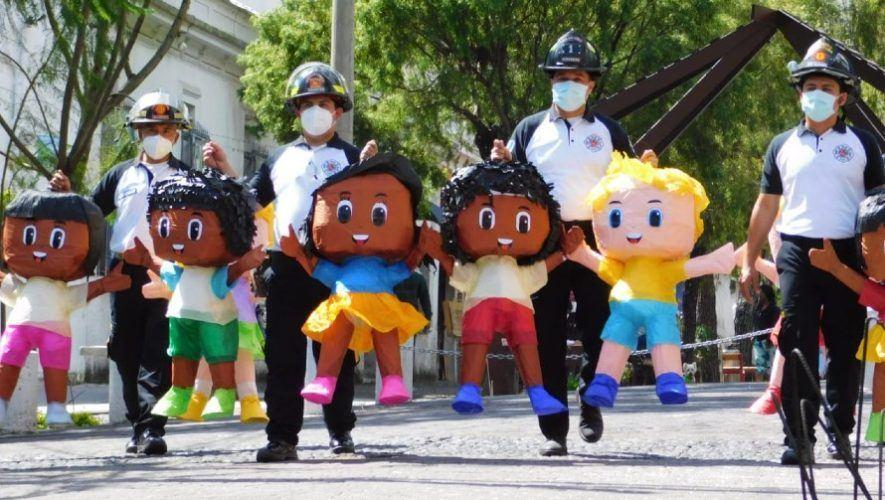 bomberos-voluntarios-promovieron-campana-uso-responsable-pirotecnia-guatemala