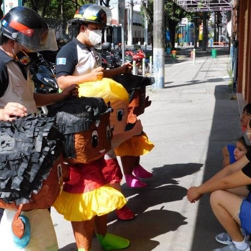 bomberos-voluntarios-promovieron-campana-uso-responsable-pirotecnia-guatemala-ciudad-capital