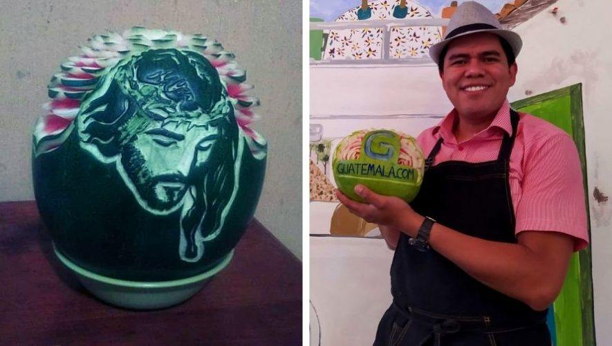 diego-aguilar-guatemalteco-talla-frutas-verduras-tecnica-garnish-originario-santa-rosa