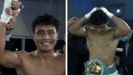 Lester Martínez es el nuevo campeón de boxeo del título Continental Latinoamericano CMB