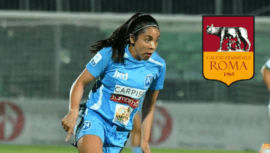 Ana Lucía Martínez se convirtió en nueva jugadora del Roma Calcio Femminile de Italia
