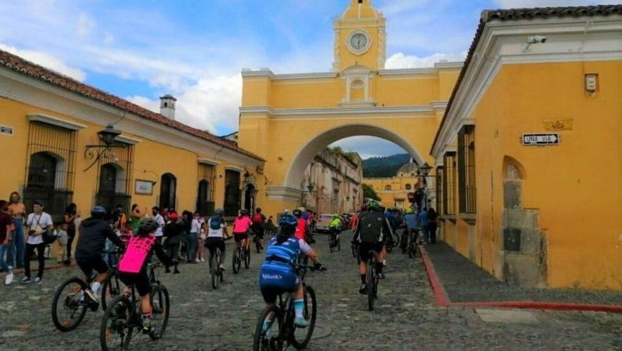Bicicultura, tour en bicicleta por Antigua Guatemala por el Día del Cariño | Febrero 2021