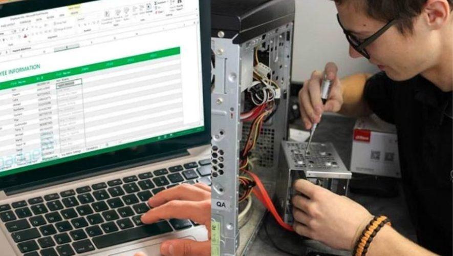 Cursos de computación gratuitos en Mixco avalados internacionalmente 2021
