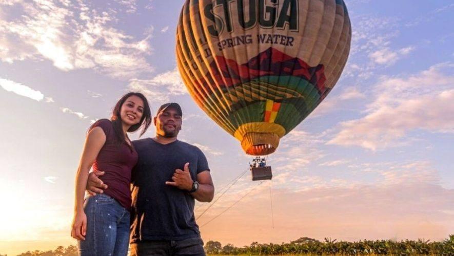 Elevación en globo aerostático en Escuintla, Guatemala | Enero - Febrero 2021