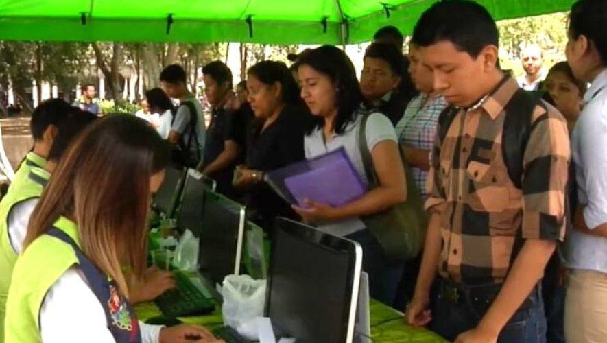 Feria de empleo en Zona 1 y Zona 10, Ciudad de Guatemala | Enero 2021