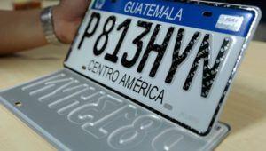 Foro virtual sobre el cambio a placas de metal en Guatemala | Enero 2021
