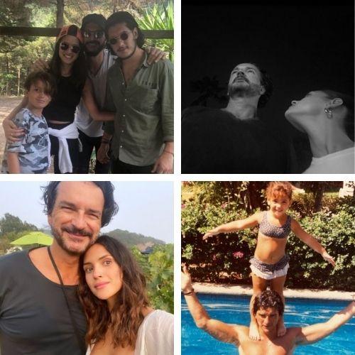 Fotos de Ricardo Arjona junto a sus tres hijos, Adria, Ricardo y nicolás