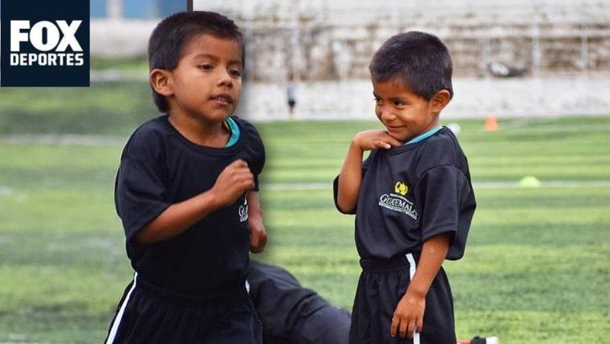 Fox Deportes USA y ESPN destacaron el espíritu deportivo del niño guatemalteco Elmer Tuil