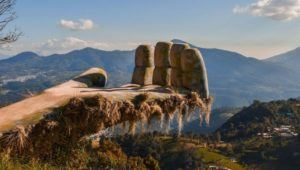 Gigante místico en Guatemala