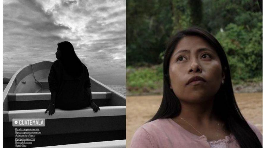 Guatemala es el escenario de un episodio de la nueva serie de la actriz Yalitza Aparicio