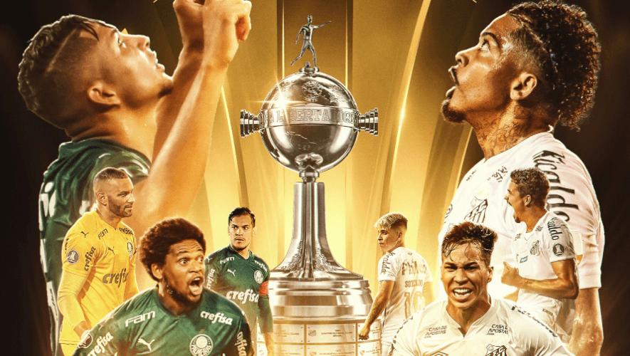 Hora y canal para ver en Guatemala la final Palmeiras vs. Santos, Copa Libertadores 2020
