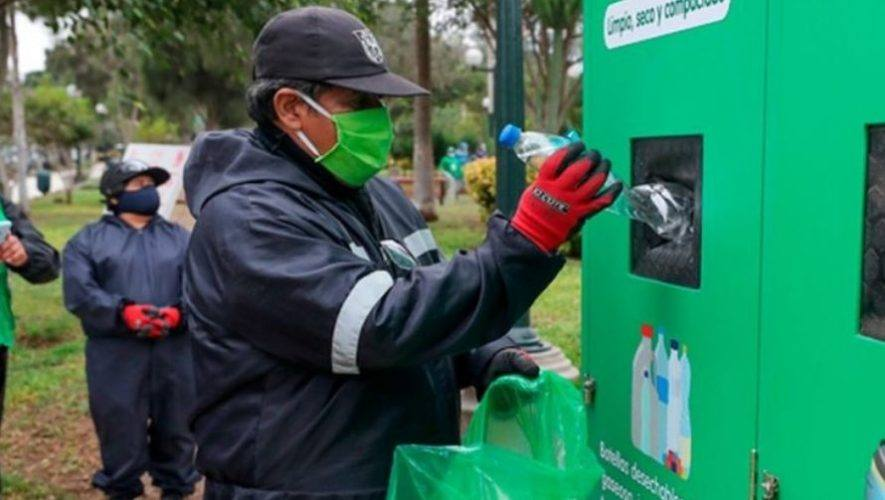 Jornada de reciclaje en la Zona 1 capitalina | Enero 2021