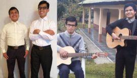 Jóvenes músicos con discapacidad visual grabaron su primer disco en Huehuetenango