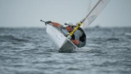 Juan Ignacio Maegli se proclamó campeón de la fecha 1 del US Open Sailing Series 2021