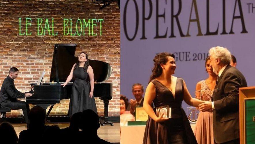 La guatemalteca Adriana González hará su debut en la ópera de Tokio 2021